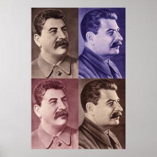 Retrato del poster de Joseph Stalin