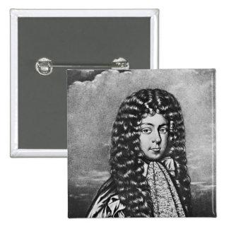 Retrato del primer duque de Ormond Pin Cuadrada 5 Cm