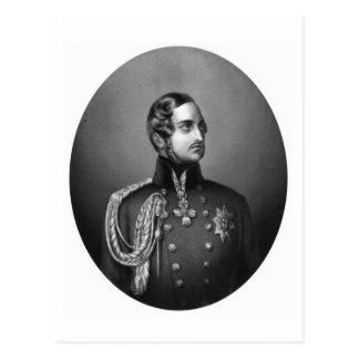 Retrato del Príncipe Alberto Postal