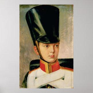 Retrato del Príncipe heredero Alexander Póster