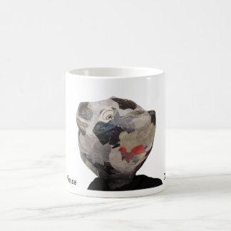 Retrato del ratón taza básica blanca