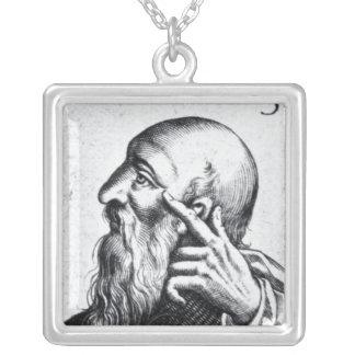 Retrato del retrato de Horacio de Scipio Collar Plateado