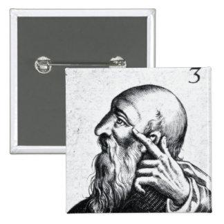 Retrato del retrato de Horacio de Scipio Pin Cuadrado