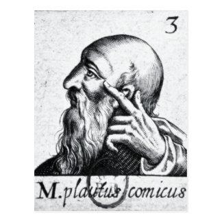 Retrato del retrato de Horacio de Scipio Tarjeta Postal