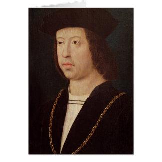 Retrato del rey de Fernando II de España Tarjeta De Felicitación