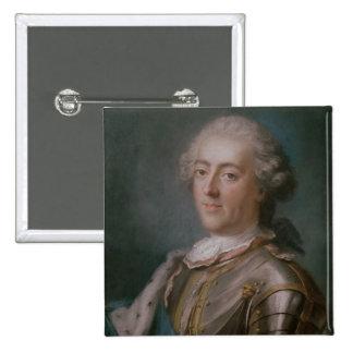 Retrato del rey de Louis XV de Francia Pin