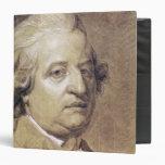 """Retrato del rey de Louis XVI de Francia Carpeta 1 1/2"""""""