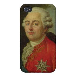 Retrato del rey de Louis XVI de Francia iPhone 4/4S Fundas