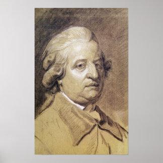 Retrato del rey de Louis XVI de Francia Poster