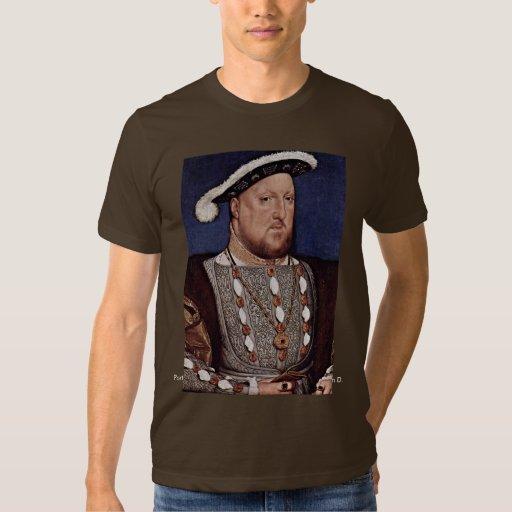 Retrato del rey Enrique VIII de Inglaterra Playera