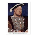 Retrato del rey Enrique VIII de Inglaterra Postales