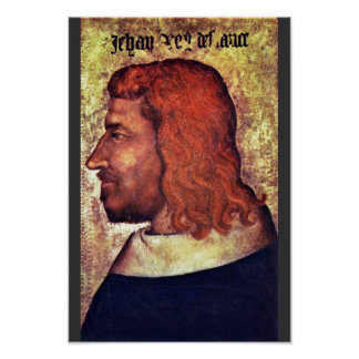 Retrato del rey francés Jean Le Bon (Juan Ii T Impresiones
