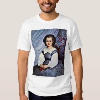 Retrato del Romaine Lancaux del Mademoiselle Poleras