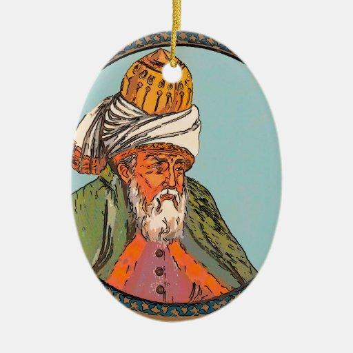 retrato del rumi ornamente de reyes
