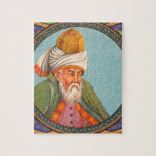 retrato del rumi puzzles con fotos