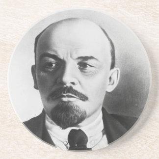 Retrato del ruso Vladimir Ilyich Lenin Posavasos Personalizados