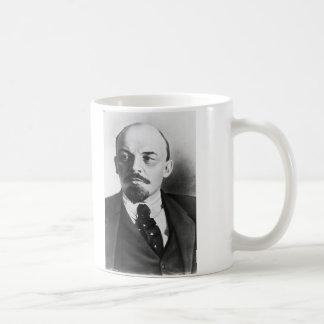 Retrato del ruso Vladimir Ilyich Lenin Taza