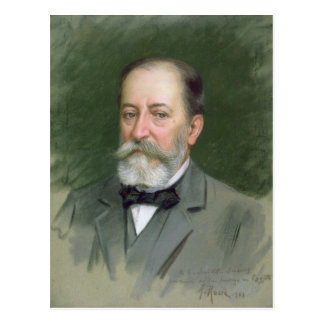 Retrato del Santo-Saens 1903 de Camilo Postal