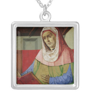 Retrato del Seneca c.1475 Collar Plateado
