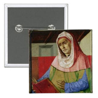 Retrato del Seneca c.1475 Pin Cuadrado