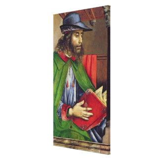 Retrato del Solon c.1475 Impresiones En Lona