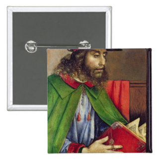 Retrato del Solon c.1475 Pin Cuadrado