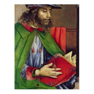 Retrato del Solon c.1475 Postal
