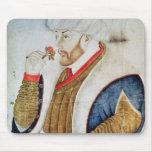 Retrato del sultán Mehmet II Mouse Pads
