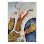 Retrato del sultán Mehmet II Tarjeta De Felicitación
