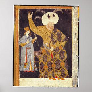 Retrato del sultán Selim II Posters