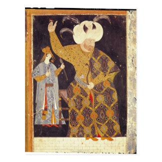 Retrato del sultán Selim II Tarjeta Postal