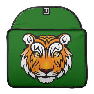 Retrato del tigre fundas macbook pro