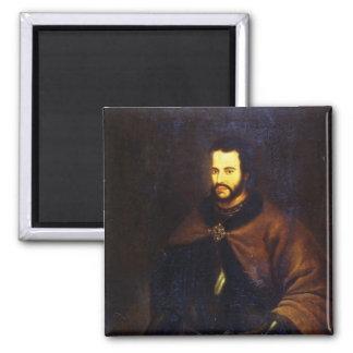 Retrato del Tsar Ivan el V Alexeyevich Imán Cuadrado