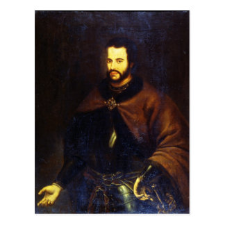 Retrato del Tsar Ivan el V Alexeyevich Postal
