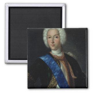 Retrato del Tsar Peter II Imán Cuadrado