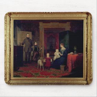 Retrato del Van Cortland Family, c.1830 Mousepad