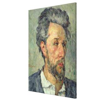 Retrato del vencedor Chocquet, 1876-77 Impresion En Lona