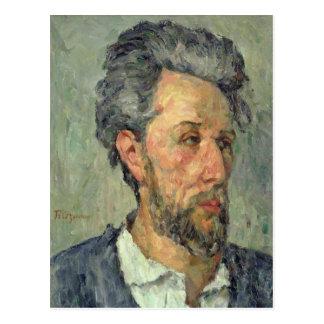 Retrato del vencedor Chocquet, 1876-77 Postales