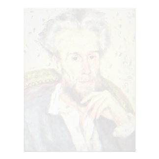 Retrato del vencedor Chocquet de Pedro-Auguste Plantillas De Membrete