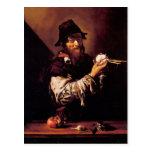 Retrato del viejo hombre con la cebolla de Jusepe  Postal