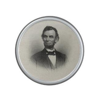 Retrato del vintage de Abraham Lincoln Altavoz