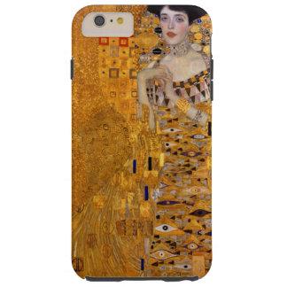 Retrato del vintage de Adela Gustavo Klimt Funda Resistente iPhone 6 Plus