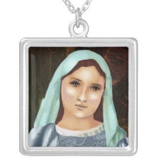 Retrato del Virgen María santo, madre Maria Colgante Cuadrado
