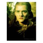 Retrato delantero de Legolas Tarjeta Postal