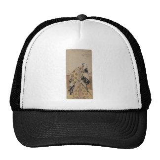 Retrato detallado de un samurai circa 1700s gorra