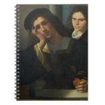 Retrato doble, c.1502 libro de apuntes