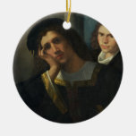 Retrato doble, c.1502 ornamentos para reyes magos