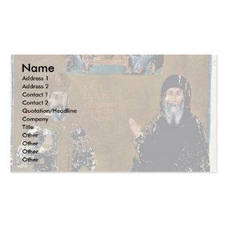 Retrato doble de Cantacuzenos del emperador y del  Tarjeta De Visita