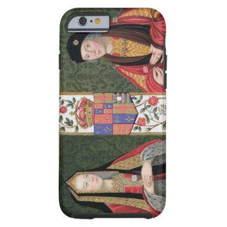 Retrato doble de Elizabeth de York 1465-1503 a