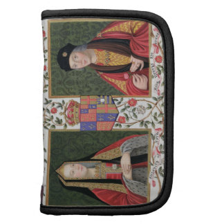 Retrato doble de Elizabeth de York (1465-1503) a Organizadores